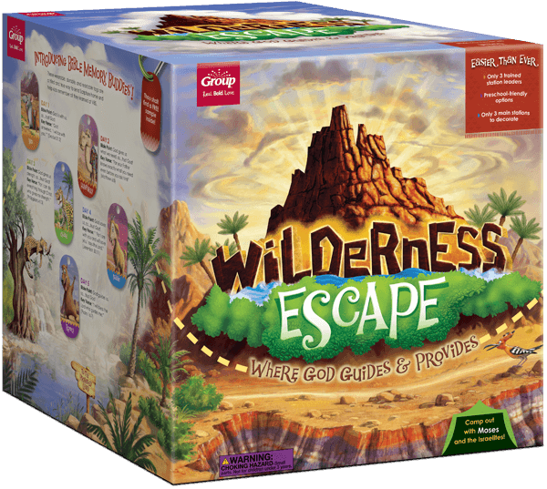Wilderness Escape VBS Starter Kit