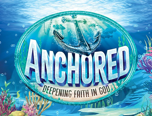Anchored Weekend Vacation Bible School Logo