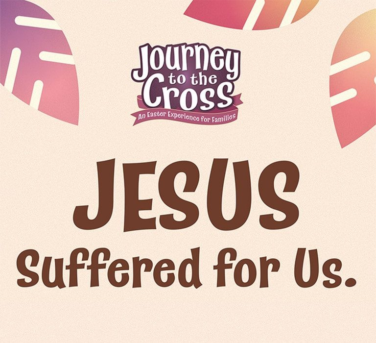 Jesus Suffered for Us