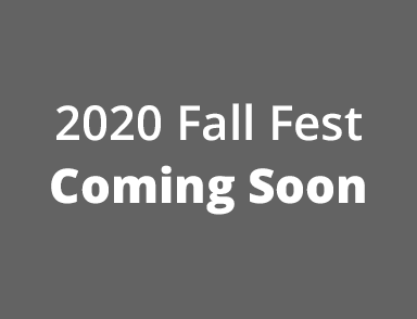 2020 Fall Fest Coming Soon
