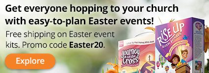 Free Shipping on Easter Event Kits with prmo code Easter20