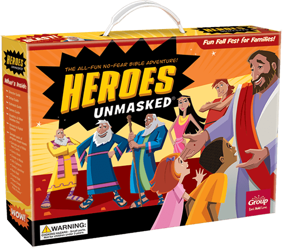Heroes Unmasked Fall Festival | The All-Fun No-Fear Bible Adventure