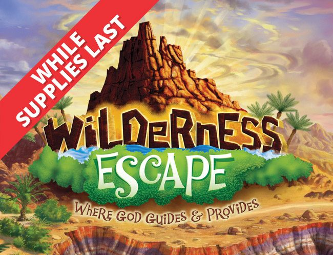 Widlerness Escape VBS 2020 Logo