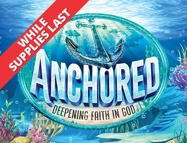 Anchored Weekend VBS 2020 Logo