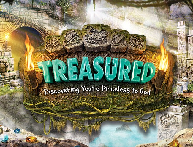 Treasured VBS Logo