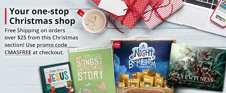 Christmas Ministry Resources Shop | Save 25% with promo code CMASFREE