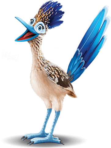 Miley the Road Runner