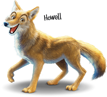 Howell the Coyote